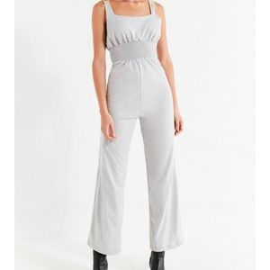 NWT Urban Outfitters smocked waist jumpsuit